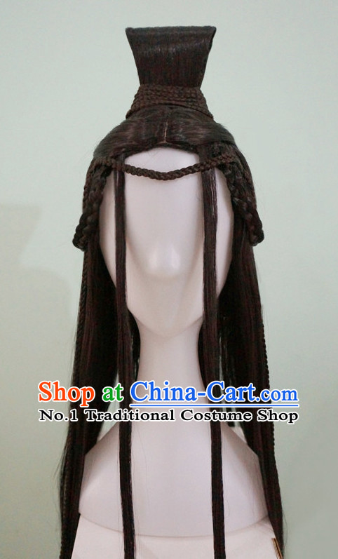 Chinese Ancient Style Black Wigs