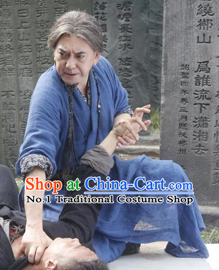 Chinese Ancient Kung Fu Costumes Complete Set