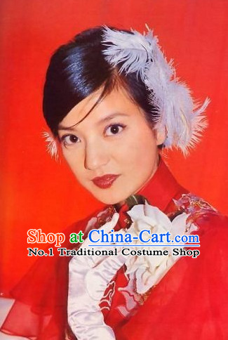 Chinese Qing Female Hair Accessories