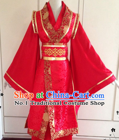 Chinese Classical Wedding Garment Complete Set for Bridegrooms