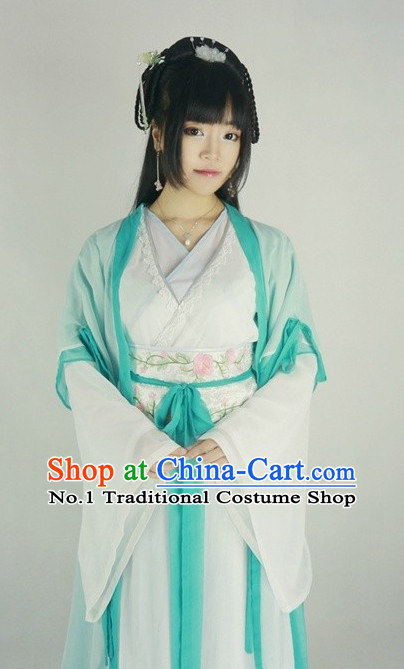 Traditional Chinese Hanfu Costumes