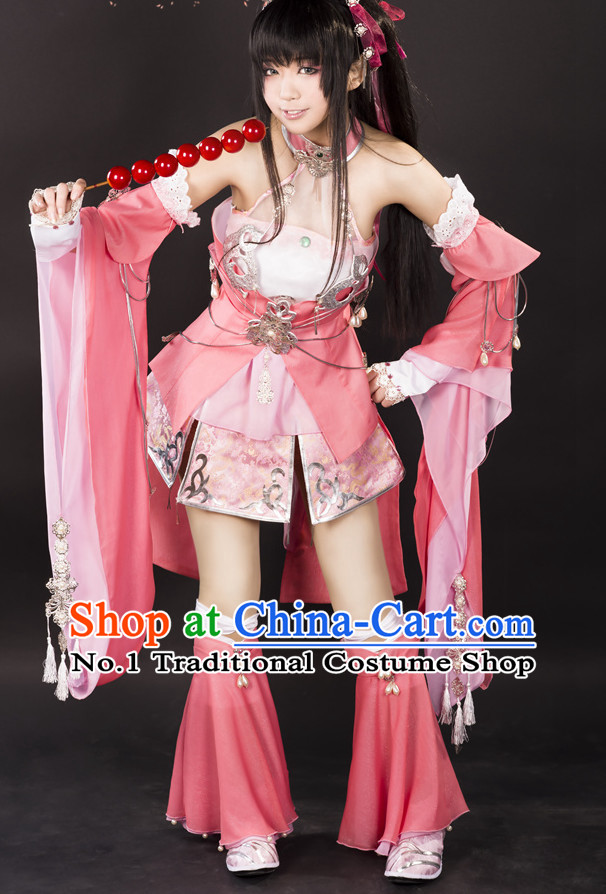 Asian Chinese Cosplay Costumes Halloween Costume Complete Set