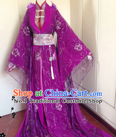 Chinese Classical Empress Garment Complete Set for Women