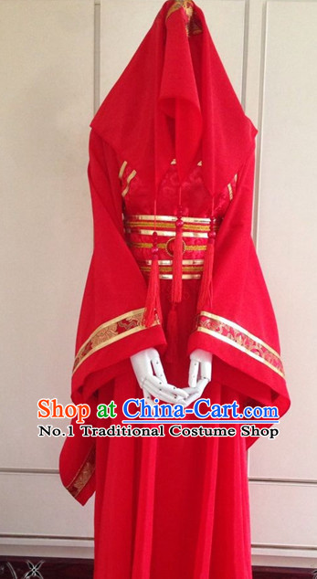 Chinese Classical Wedding Garment Complete Set for Brides