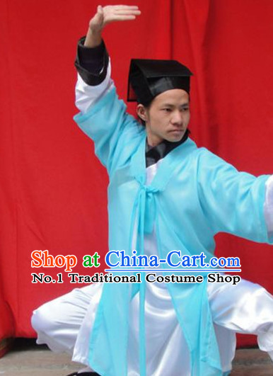 Chinese Ancient Wudang Mountain Taoist Costumes for Men
