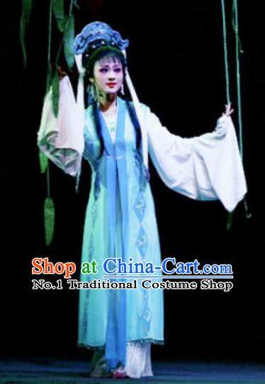 Asian Chinese Traditional Dress Theatrical Costumes Ancient Chinese Clothing Nun Uniforms Costumes