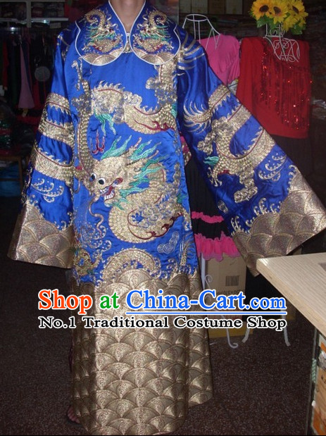 Traditional Ancient Chinese Beijing Opera Dragon Robes