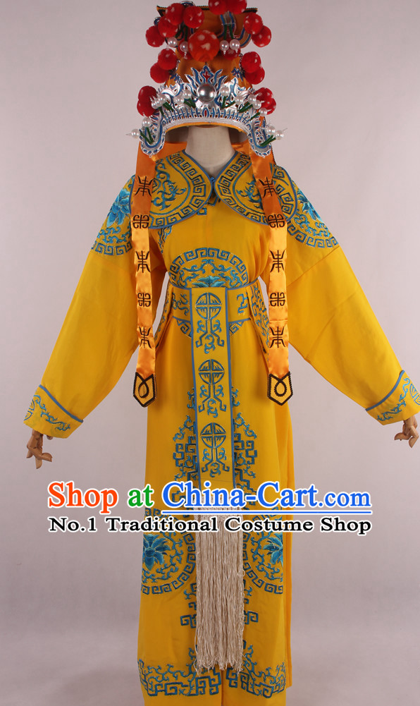Chinese Traditional Dresses Theatrical Costumes Ancient Chinese Hanfu Wu Sheng Costumes