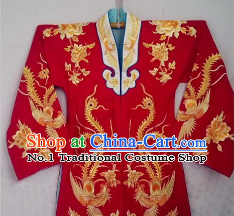 Traditional Chinese Peking Opera Wedding Robes