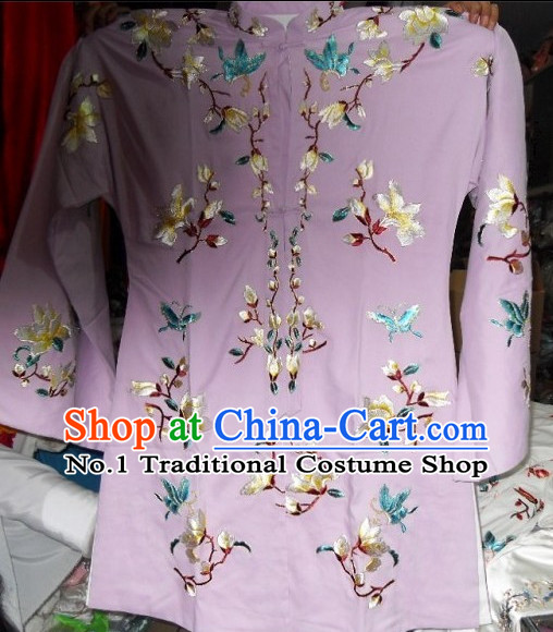 Traditional Chinese Peking Opera Long Gown
