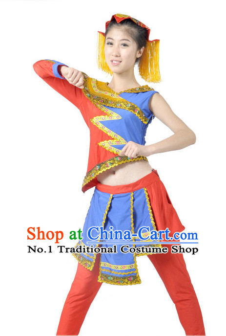China Traditional Girls Dancewear