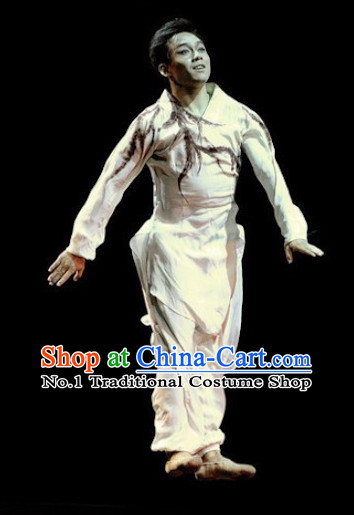 Chinese Classical Dancing Costumes Complete Set for Men