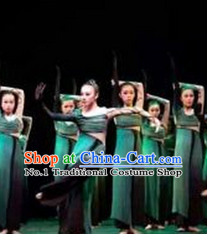 China Classical Dancing Costumes Complete Set for Women