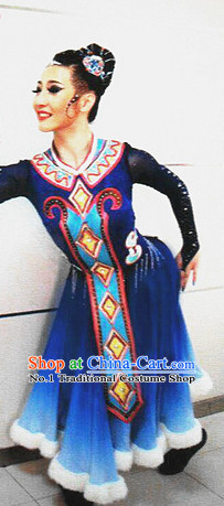 Chinese Classical Dancewear Costumes for Women