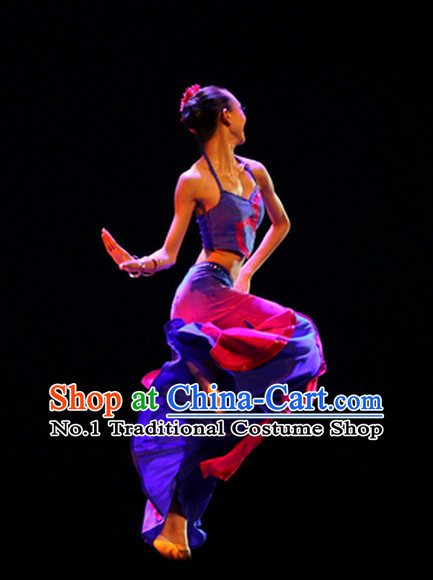 Beijing Dance Accademy Girls Dai Dance Costumes