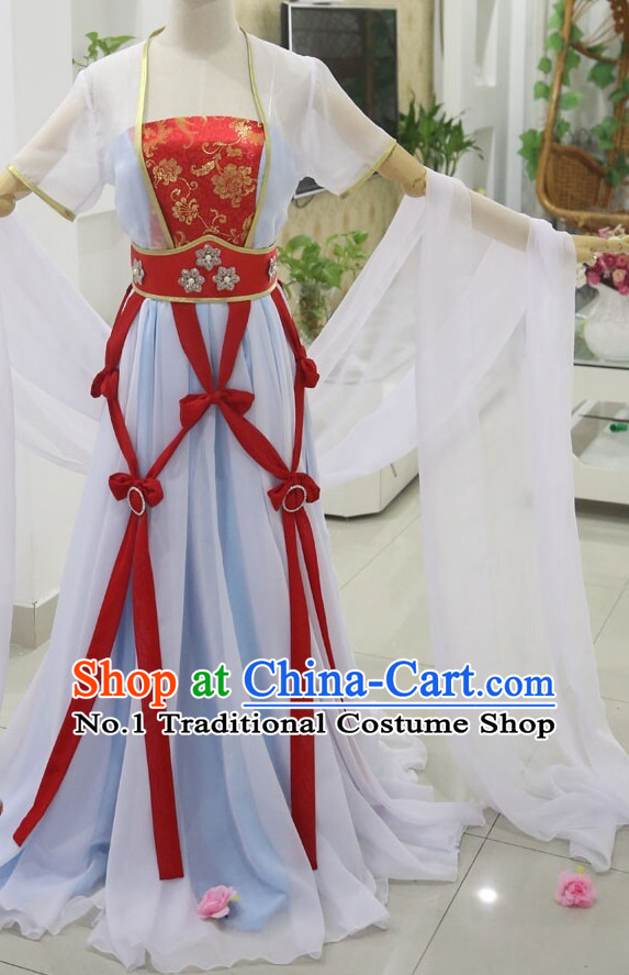 Top Chinese Chang Er Moon Fairy Costumes Classical Dancing Costume for Women