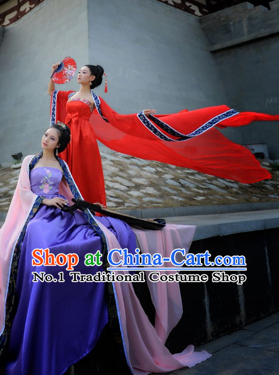 Chinese Traditional Fairy Costumes for Women