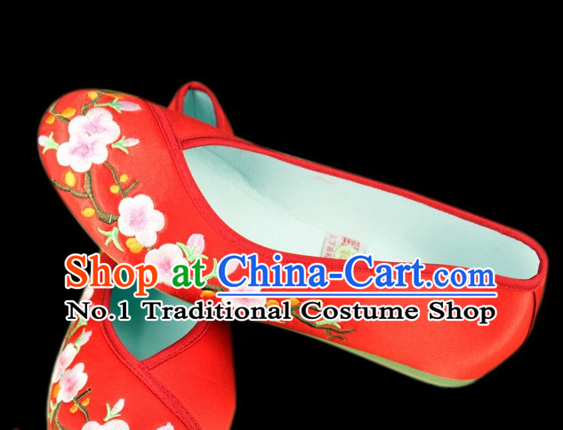 Traditional Chinese Embroidered Shoes