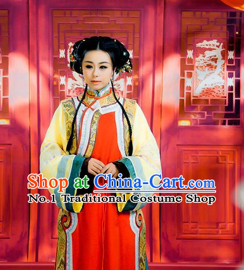 Chinese Traditional Long Robe for Women