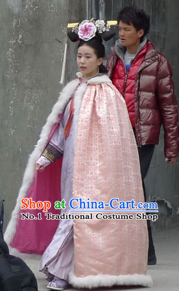 Chinese Qing Dynasty Princess Winter Cape