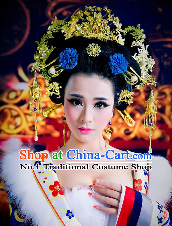 Chinese Traditional Handmade Empress Hair Ornaments