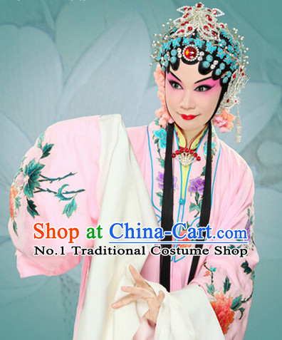 Chinese Peking Opera Hua Tan Costumes Long Robe