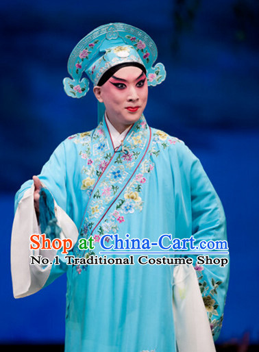 Chinese Peking Opera Xiao Sheng Young Scholar Costumes for Men