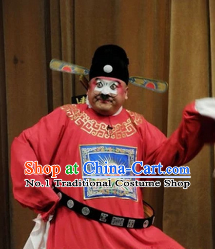 Chinese Peking Opera Costumes Sesame Official Petty Official Cosutmes