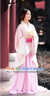 Custom Hanfu Dress Ancient Chinese Clothing Complete Set for Women