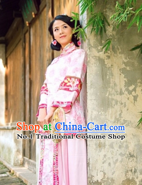 Custom Hanfu Dress Minguo Chinese Clothing Complete Set for Women