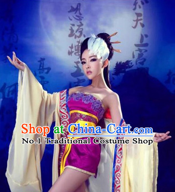 Custom Hanfu Dress Sexy Halloween Costumes Ancient Chinese Clothing Complete Set for Women