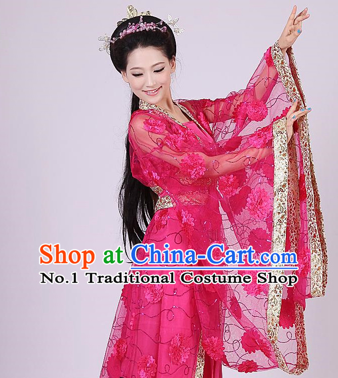 Traditional Ancient Chinese Fairy Costumes for Women