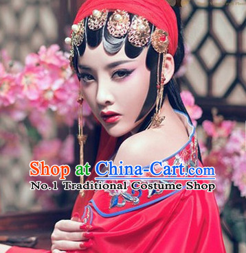 Traditional Chinese Handmade Opera Hair Accessories for Women