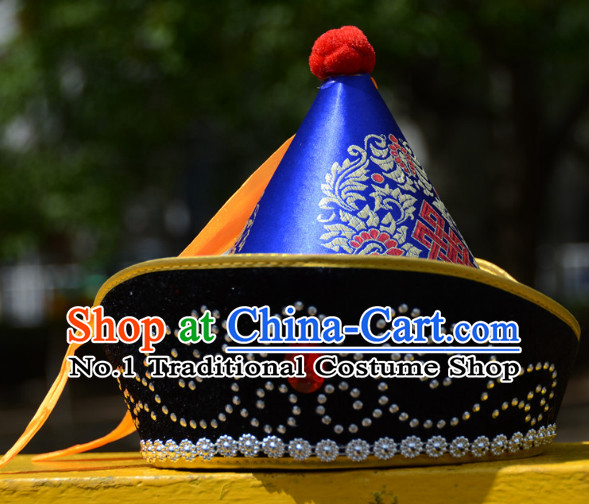 Traditional Chinese Mongolian Hat