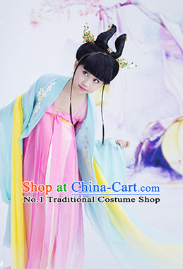 Traditional Chinese Photo Costume Princess Costumes for Kids Girls