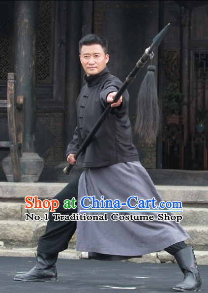 Traditional Chinese Kung Fu Master Uniform Clothing
