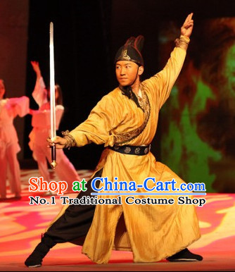 Traditional Chinese Kung Fu Master Costumes
