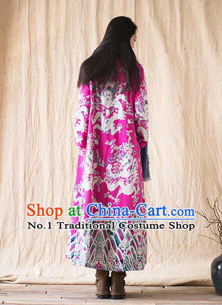 Chinese Traditional Mandarin Dragon Robe for Men or Women