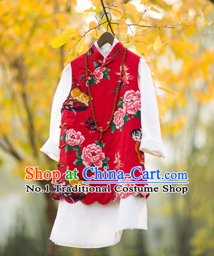 Chinese Traditional Mandarin Clothes for Women