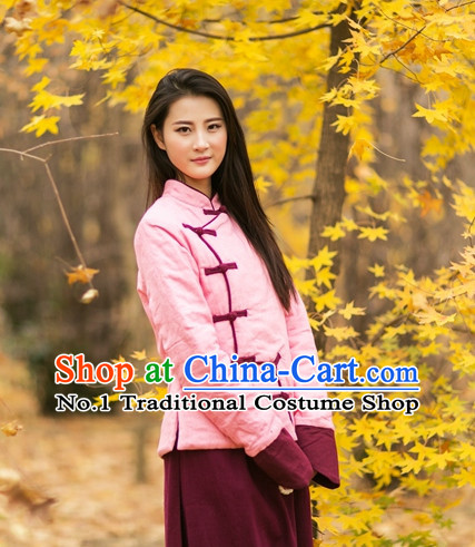 Chinese Traditional Mandarin Clothes Complete Set for Women