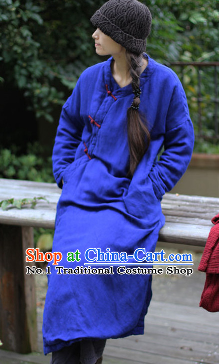 Chinese Traditional Mandarin Long Robe or Women