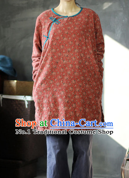 Chinese Traditional Mandarin Blouse for Women