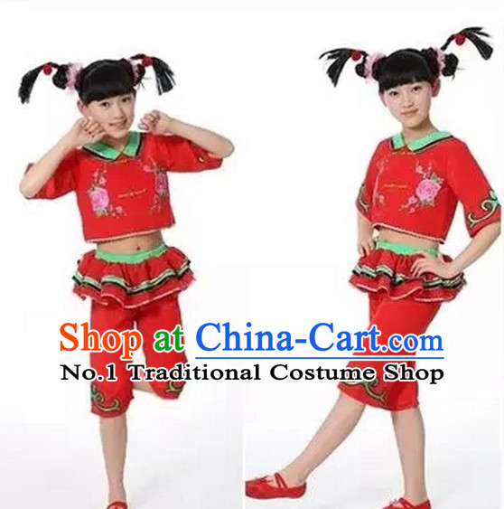 Chinese New Year Dance Costumes for Kids