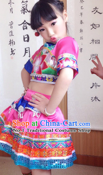Traditional Chinese Dance Costumes for Children