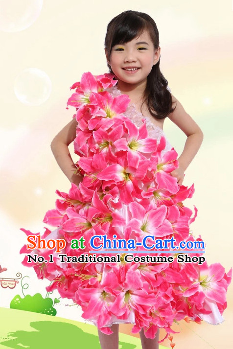Traditional Chinese Dance Costumes Costume for Kids