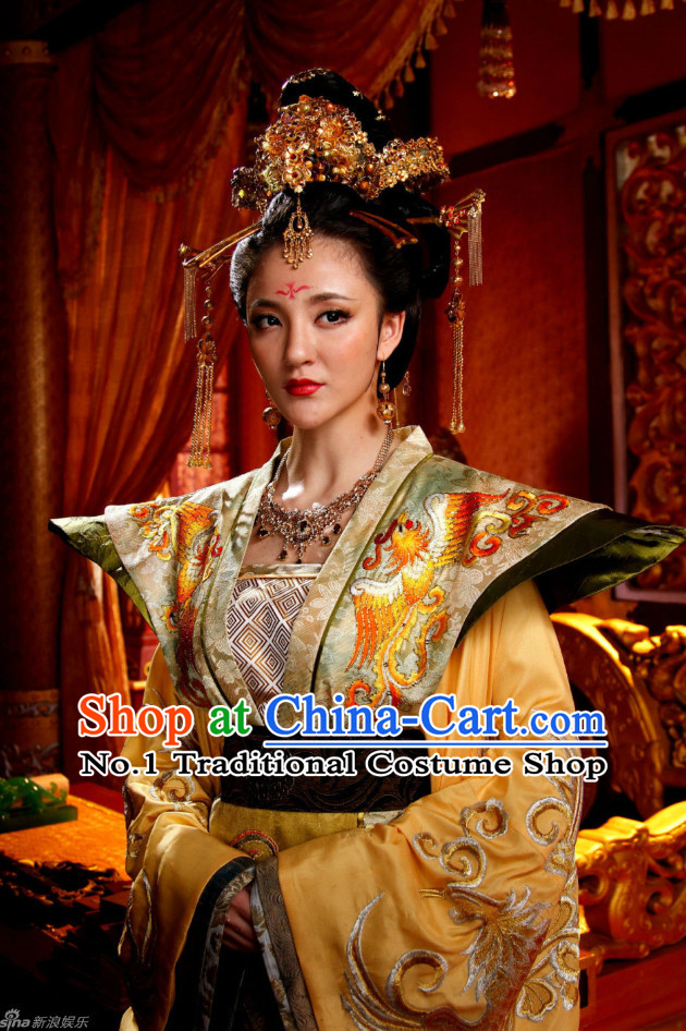 Traditional Chinese Palace Empress Hair Accessories