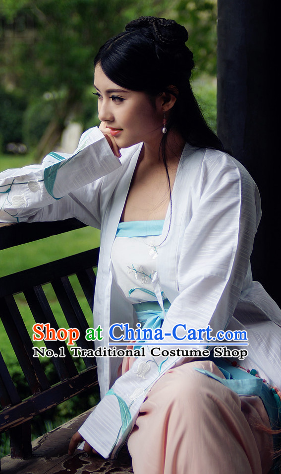 Ancient Chinese Traditional Clothes Complete Set for Women