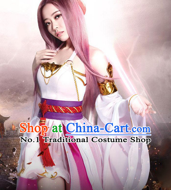 Chinese Halloween Cosplay Fairy Costumes for Women