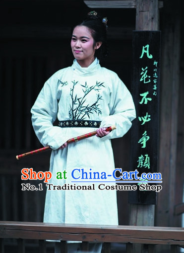 Ancient Asian Swordswoman Costumes Full Set for Women