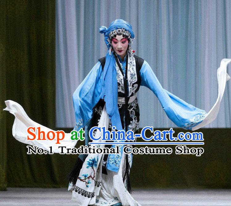Chinese Traditonal Beijing Opera Qing Yi Costumes for Women